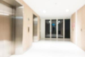 abstrakter defokussierter Hotelhintergrund
