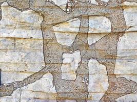 Beton- oder Betonwand für Hintergrund oder Textur foto