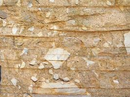 Steinbeschaffenheit im Freien foto