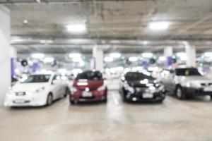 defokussierter Garagenhintergrund foto