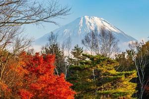 Landschaft bei mt. Fuji, Japan foto