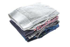 Unterwäsche auf weißem Hintergrund foto