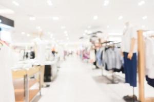 abstrakter defokussierter Einkaufszentrumhintergrund