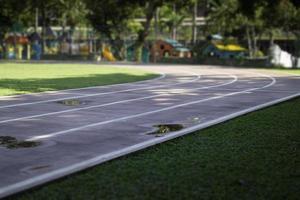 Leichtathletik im Freien foto