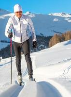 Mann Langlauf foto