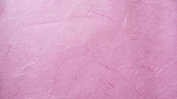 rosa Maulbeerpapier-Texturhintergrund foto