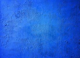 blaue Wand Textur foto