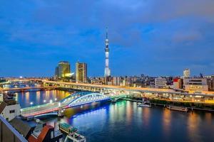 Stadtbild von Tokio, Japan