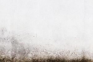 weißer ruinierter industrieller Backsteinmauertexturhintergrund foto