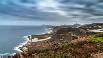 Nordküste der Insel Gran Canaria foto