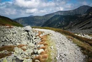 felsiger Wanderweg foto