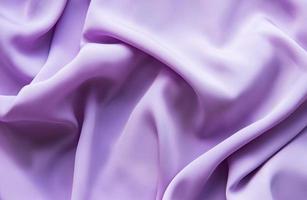 schöne glatte elegante violette lila Satin Seide foto