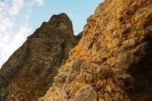 die Berge des Kaps auf der Krim foto