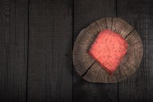 glühendes Tomatenkäsepesto foto