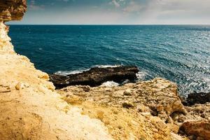 Sicht vom Meer aus foto