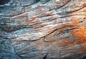 Detail des alten verwitterten Holzes