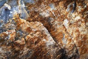 Details eines Glimmersteins foto