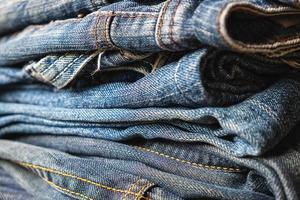 Stapel Jeans foto