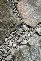 Detail der Granitpflasterung foto