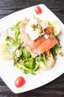 geräucherter Lachssalat foto