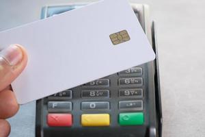 kontaktlose Zahlung mit Kreditkarte