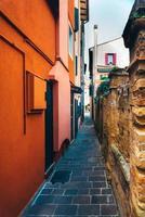 Touristenviertel der alten Provinzstadt Caorle in Italien