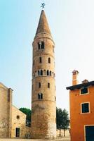 Glockenturm Dom Santo Stefano in Caorle Italien