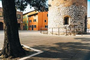 Glockenturm Dom Santo Stefano in Caorle Italien foto