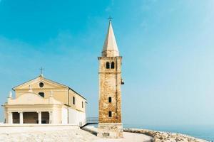 Kirche unserer Dame des Engels am Strand von Caorle Italien