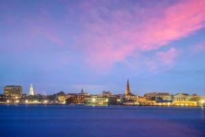 Skyline von Charleston, South Carolina, USA
