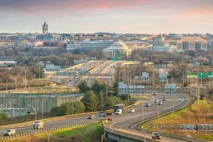 Washington, DC Skyline der Stadt