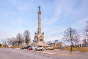 Denkmal auf dem Gelände der Landeshauptstadt südlich des Hauptgebäudes in Des Moines
