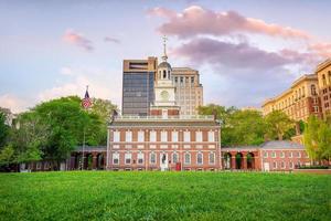 Unabhängigkeitshalle in Philadelphia, Pennsylvania