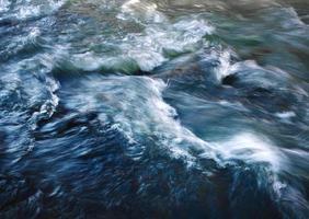 abstraktes verschwommenes Wasser foto