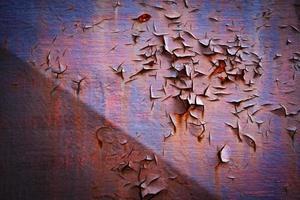 alte dunkel gestrichene Wand foto
