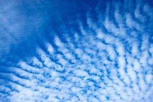Wolkendecke am Himmel foto
