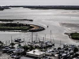 Ponce-Inlet Florida, 2016 - ein kleiner Yachthafen foto