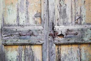 rustikale alte Tür foto