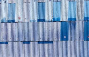 rustikales blaues Metall foto
