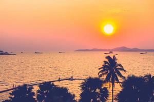 Silhouette Palmen