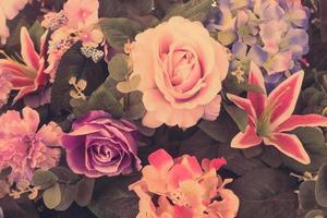 schöne Blumenstraußblume