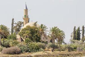 Larnaka Hala Sultan Tekke in Zypern foto