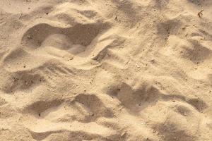 Sand auf der Strandbeschaffenheit für Sommerhintergrund