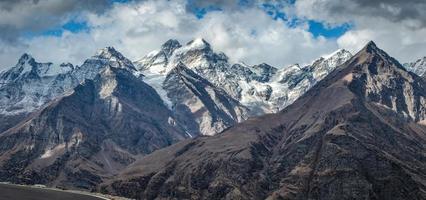Panorama-Himalaya-Gebirgslandschaften foto