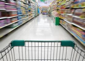 Einkaufen im Supermarkt in Thailand