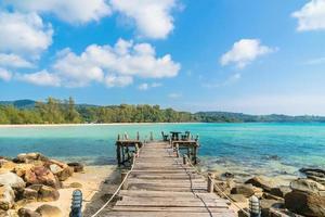 Strand und Meer in Thailand