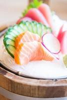 frischer Sashimi Fisch