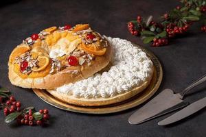 High Angle Epiphany Day Desserts foto