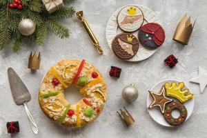 hausgemachte Offenbarung Dessert Kronen Geschenke foto