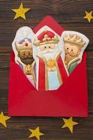 königliche Keks essbare Figuren foto